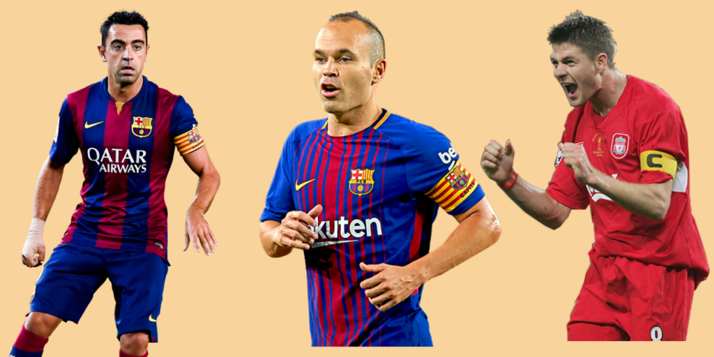 Best central midfielders of all time, the world's best midfielders of all time, or the best defensive midfielders of all time