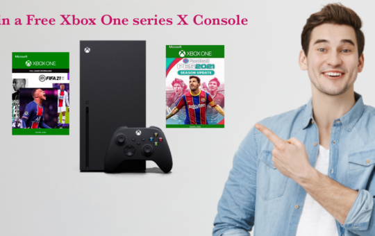 How to win a free Xbox one Series X Console