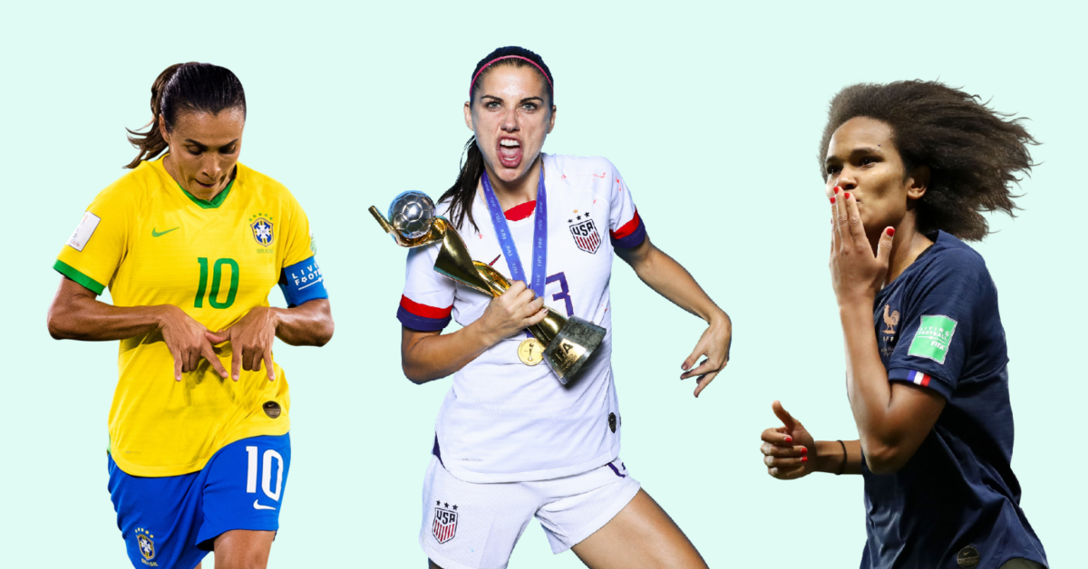 10 Greatest Female Soccer Players In History