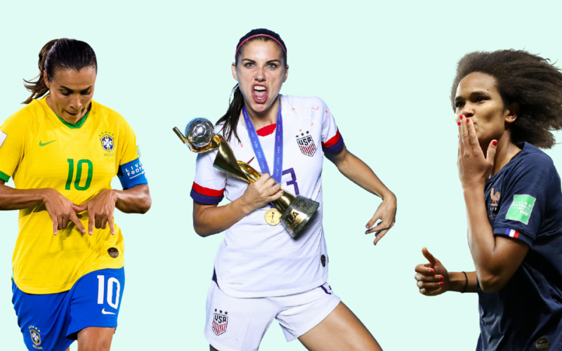 Best female soccer players ever