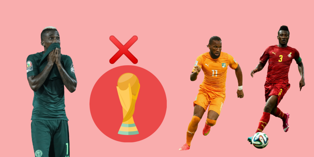 Why Africans fail at the world Cup