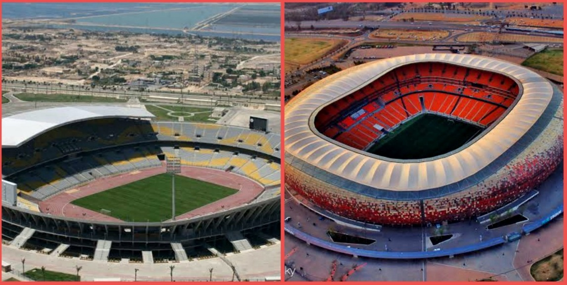 The 10 Largest Stadiums in Africa: Find out Now