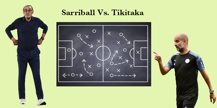 A Tactical Insight Of SarriBall Vs. Tiki-taka