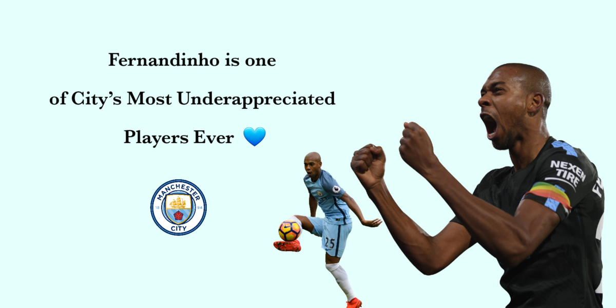 Fernandinho is One of the Best Players for Manchester City
