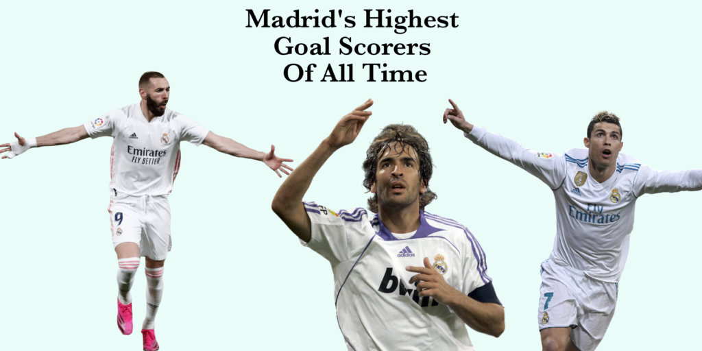 Real madrid Top or highest scorers of all time