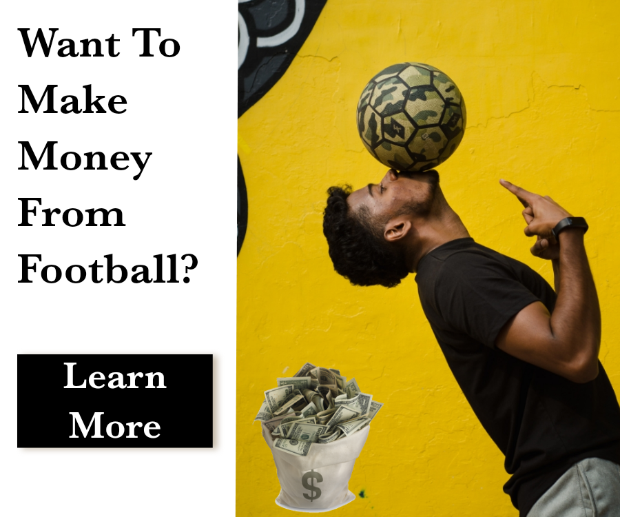 Make money from football banner ad