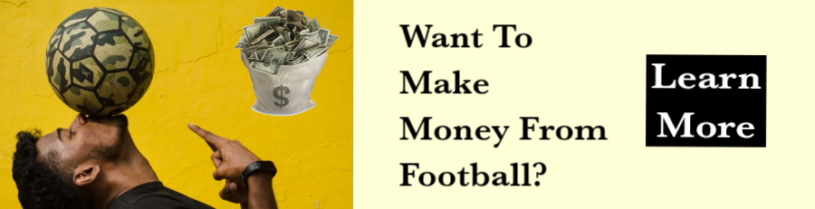 Make Money From Football ebook ad banner