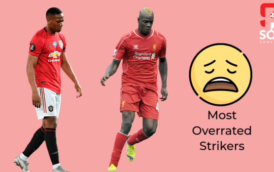 Most overrate strikers